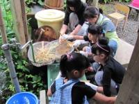 竹紙漉き体験教室